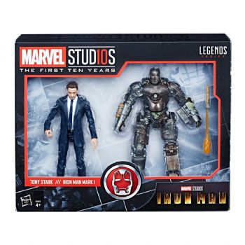 Marvel Legends  Action Figure 2-Pack Tony Stark & Iron Man Mark I 15 cm